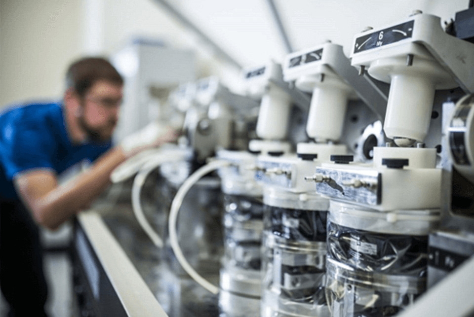 medical devices being manufactured under strict quality control